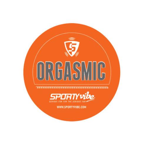 SportyVibe™  Orange and White